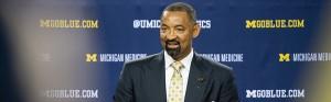 New Michigan Men's Basketball head coach Juwan Howard